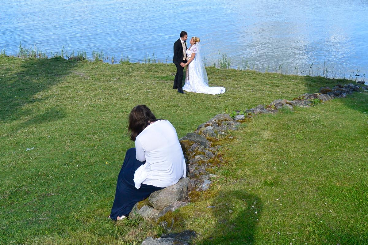 Behind the scenes från två bröllop i rad