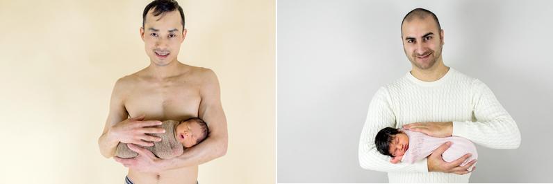 nyföddfotografering-pappa