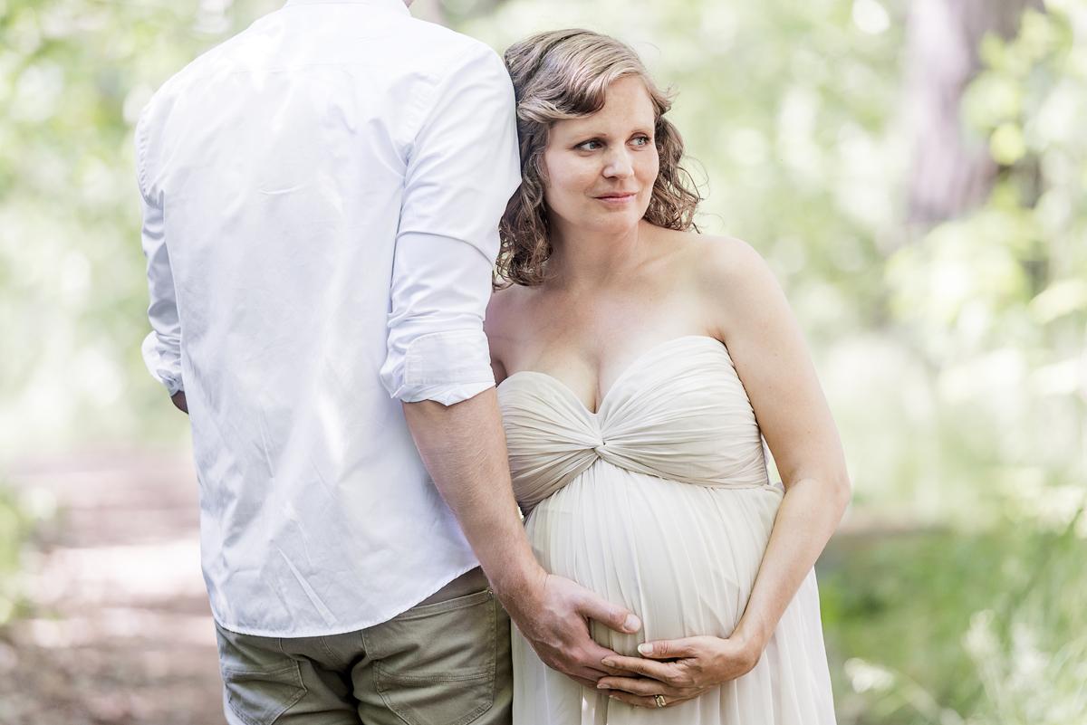 Gravidfotografering Norrköping – Karin och Fredrik