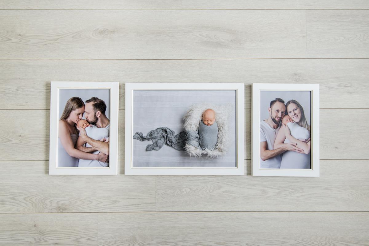 Vad kan man göra med bilderna från nyföddfotograferingen?