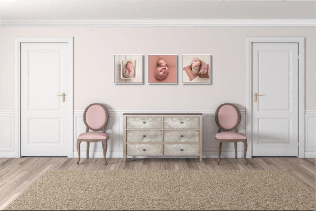 Så inreder du hemmet med nyföddbilder